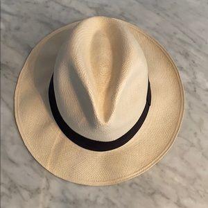 J. Crew Genuine Panama Hat M-L